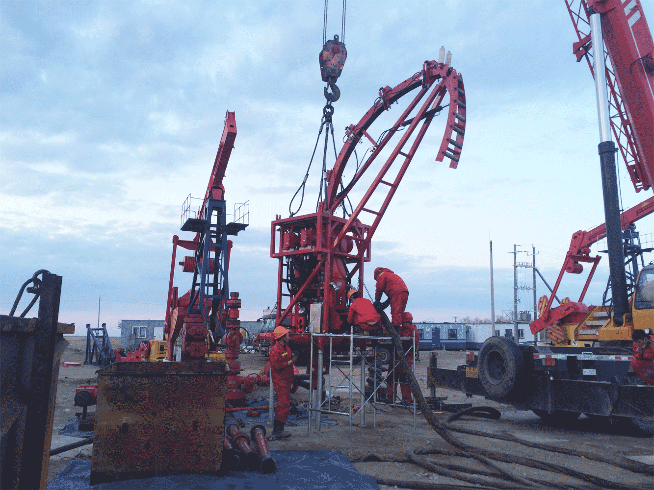 Coil Tubing Units For Oil And Gas Operations : Coiled tubing workover kerui